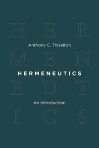 hermeneutics thiselton