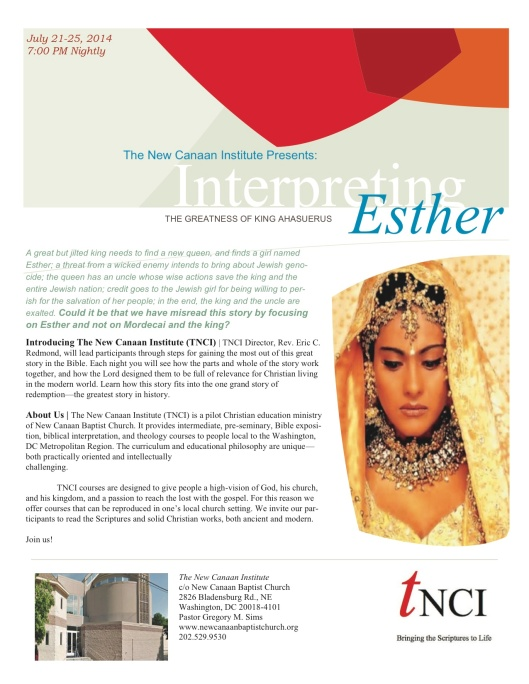 0001b Esther Flyer June 2014 copy
